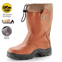 Buy cheap Brown safety boots for winter H-9426 Brown from wholesalers