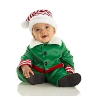 Buy cheap Child Halloween Costumes Baby Christmas Elf Costume from wholesalers