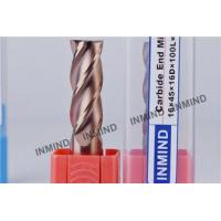 Buy cheap Long Shank Carbide End Mill Cutter Flat End Mill With 2 / 4 Flutes from wholesalers