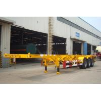 Buy cheap 40 ft container skeletal trailer from wholesalers