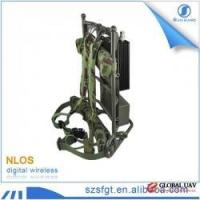 Buy cheap Radio transmitter military backpack audio video convert surveillance equipment from wholesalers