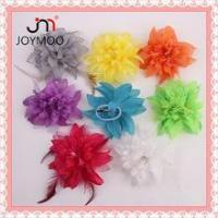 Buy cheap Factory Outlets High Quality Fabric Flower Artificial Fake Flowers Corsage For Wedding Decoration from wholesalers