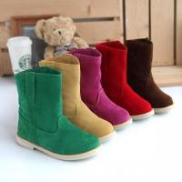 Buy cheap Women's Footwear Mid Calf Winter Boots in Different Colors from wholesalers