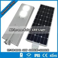 Buy cheap HT-SS-8040,40W LED lamp with 80W solar from wholesalers