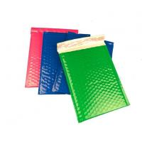 Buy cheap Strong Glue Coloured Plastic Bubble Surface Shipping Mailer Easy for Writing&printing. from wholesalers