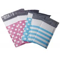 Buy cheap Dotted and Stripe Colourful Poly Bubble Mailers, Padded Envelopes, 4x8 and 6x10 from wholesalers