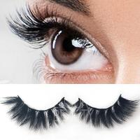 Buy cheap 3D Lashes 3d mink lash extensions with custom eyelash packaging ES109 from wholesalers