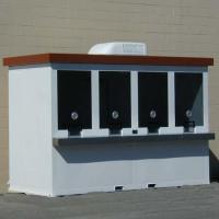 Buy cheap Portable Ticket Booth 5' x 12' from wholesalers