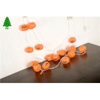 Buy cheap Halloween pumpkin lamp party bar decorated with lights and lights from wholesalers