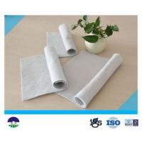 Buy cheap Staple Fiber Needle punched Geotextile Drainage Fabric 800G For Reinforcement Base from wholesalers