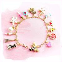 Buy cheap DIY Fashion gold charm bracelet jewelry for women from wholesalers