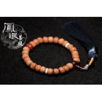 Buy cheap Fungus Bodhi child 26 red skin tassel hand from wholesalers