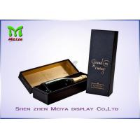 Buy cheap Personalized Custom Wine Gift Boxes Packaging With Logo Printed from wholesalers