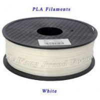 Buy cheap White PLA 3D Printer Filament 1Kg / roll For 3D Printer Pen 1.75mm / 3.0mm from wholesalers