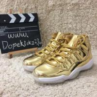 Buy cheap Authentic Air Jordan 11s All Gold product
