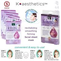 Buy cheap SKIN THERAPY K-aesthetics Rejuvenating Collagen Mask - 5 pack from wholesalers