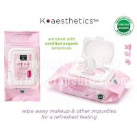 Buy cheap K-aesthetics Organic Cleansing Facial Towelettes - Retinol from wholesalers