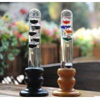 Buy cheap Galileo thermometer with color balls from wholesalers