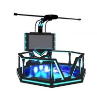 Buy cheap Big Stage 9D Space Platform Virtual Reality Video Game System Exciting Game 9D Simulator from wholesalers