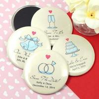 Buy cheap Personalized Wedding Magnets (2.25) from wholesalers