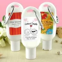 Buy cheap Sunscreen Favors with Carabiner (SPF 30): Unique Designs from wholesalers