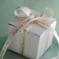 Buy cheap Personalized Ribbon Favors - White Satin from wholesalers