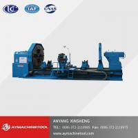 Buy cheap Swing Dia.1250MM-2000MM(16t)Heavy Duty CNC Flat Bed Lathe Machine with 2 Rectangular Guideway from wholesalers