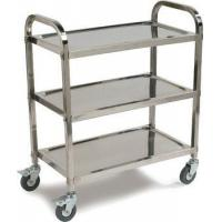 Buy cheap Foldable Stainless Steel Kitchen Trolley from wholesalers