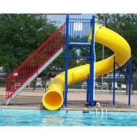 Water Play Park Fiberglass Water Tube Slide For Swimming Pool