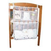 Buy cheap Breathable Mesh Nursery Diaper Organizer Storage Bag for Baby Crib from wholesalers