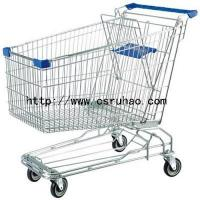 Buy cheap RH-SA240 240L Shopping Trolley Unfolding Metal Grocery Supermarket Cart from wholesalers