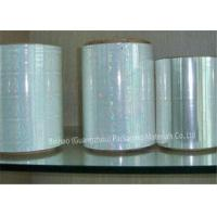 Buy cheap High Moisture Proof BOPP Holographic Film , Silicone Coated Polyester Film from wholesalers