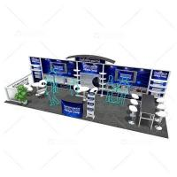 Buy cheap 30' Modular Inline Trade Show Banner Stands from wholesalers