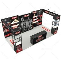 Buy cheap 3m x 6m Portable Trade Show Expo Displays, Display Stand, Logo Printing Carpet from wholesalers
