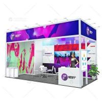 Buy cheap 20ft Custom Exhibition Booth with Reasonable Price from wholesalers