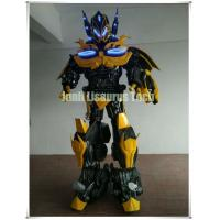 Buy cheap Custom Homemade 2.5m Transformers Superhero Robot Diy Bumble bee Cosplay Halloween Suit from wholesalers