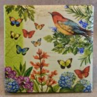 Buy cheap Butterflies and Flowers Magnetic Photo Album from wholesalers