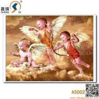 China 3D Baby Picture, Angel Three-dimensional Printing, Lenticular Picture, A5002 on sale