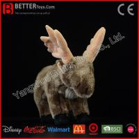 Buy cheap Stuffed animals Stuffed Animal Moose Soft Toys Plush Toy Elk for Kids/Children from wholesalers