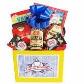 Buy cheap All Star Mens Gift Basket with Puzzle Books and Snacks from wholesalers