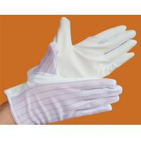 Buy cheap Anti-static fabric PU gloves from wholesalers