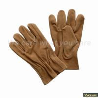 Buy cheap Cow leather working gloves W109CS from wholesalers