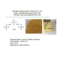 Buy cheap Iron(III) Sulfate N-Hydrate CAS 15244-10-7 from wholesalers