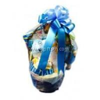 Buy cheap Newborn/Fullmoon/Baby Shower Gift Basket - Boy / Girl H1076 from wholesalers
