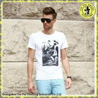 Buy cheap 100% Cotton White Plain T Shirt from wholesalers