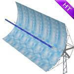 Buy cheap High temperature parabolic trough collector from wholesalers