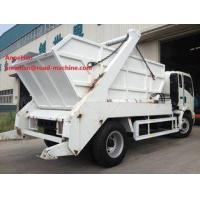 Buy cheap EuroIII 4x2 HOWO brand Light Hork Arm Garbage Truck Collection 5M3 Q235 Material 190HP from wholesalers