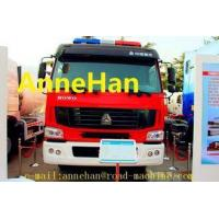 Buy cheap HOWO 6x4 12m3 371HP Fire Fighting Truck Water Tank With Pumps Ladders EUROIII from wholesalers