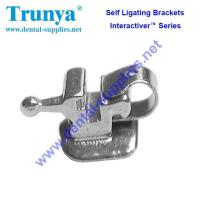 Buy cheap Interactiver Series of self ligating braces (Roth) of metal brackets for braces from wholesalers