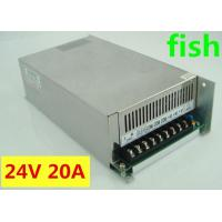 Buy cheap Iron power supply 24V 20A 480W Switching power Supply DC power adapt from wholesalers